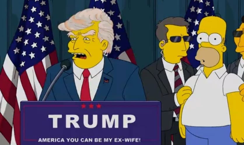 The Simpsons creators predicted a Trump presidency back in 2000 ...
