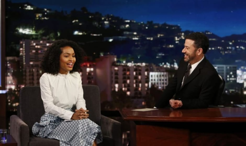 Yara Shahidi tells Kimmel she is proud of Iranian heritage and ...