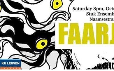 Faarjam concert (Iranian innovative rock/pop) with Roosmarijn Opening the Concert
