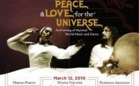 Peace & Love for the Universe: An evening of mystical world music and dance