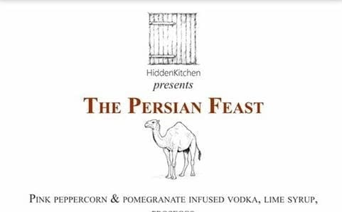 The Persian Feast