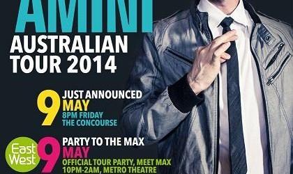 Max Amini Live in Sydney