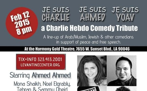 Charlie Hebdo Comedy Tribute With Tehran & Ahmed Ahmed