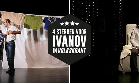 نمایشنامه ایرانی  ایوانف  در تور برنده جایزه در هلند