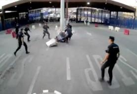 مردی با چاقو در حال فریاد «الله اکبر» به ماموران اسپانیایی در مرز اسپانیا و مراکش  حمله برد