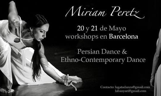 Persian and Ethno-Contemporary Dance - Miriam Peretz