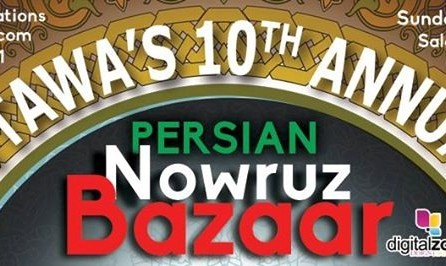 (LOCATON CHANGED) New Year (Nowruz) Bazaar - March 13