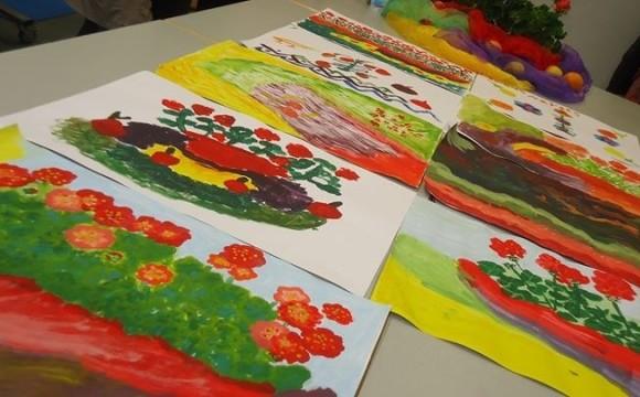 ساعت نقاشی برای بانوان