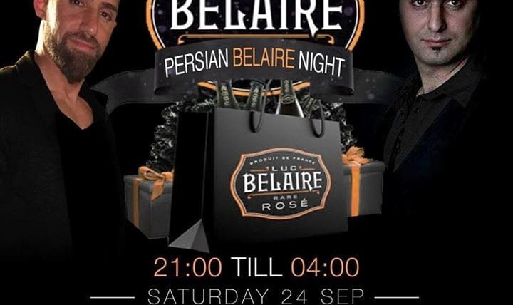 Persian Belaire Night with Pichak Band and DJ Amir Ghavami