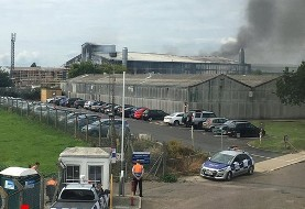 Explosion near London's South End airport