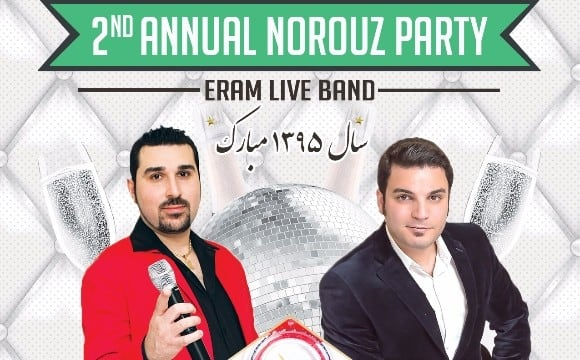 Norouz 1395 Celebration with Eram Live Band