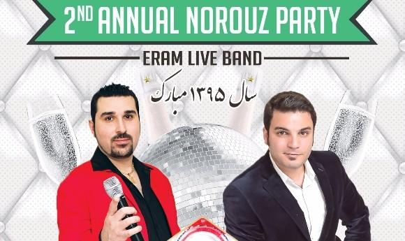 Norouz 1395 Celebration with Eram Live Band