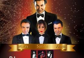 Faramarz Assef - New Year's Eve with Matin, Sarina, Armin and LA Gypsies