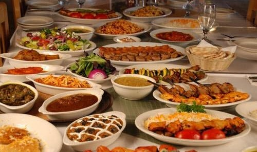 Persian Cuisine Party