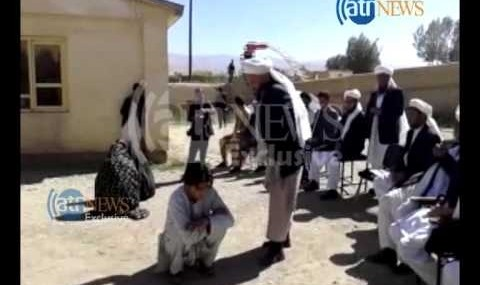 Afghan boy, girl flogged for romantic relationship (video)