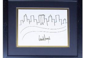 نقاشی بچه گانه ترامپ ۲۹۰۰۰ دلار فروخته شد