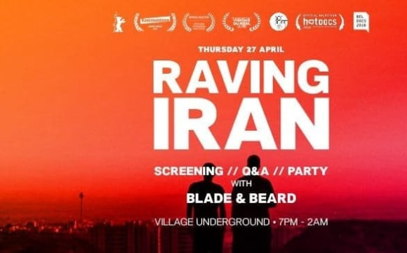 Raving Iran for Charity: Screening and Party