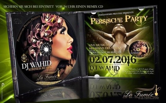 Persian Stars:  Summer Remix and DJ Wahid