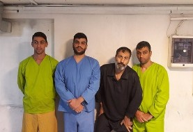 Picture of 4 men accused of burglary published without conviction