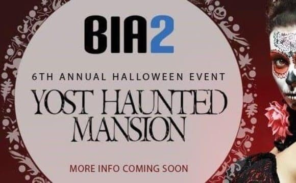 Bia2 6th Annual Halloween Party at Yost Haunted Mansion in Orange County