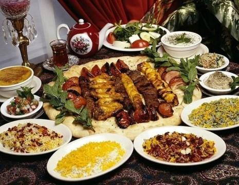 شب ایرانی غذای ایرانی