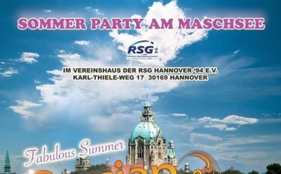 Persian Summer Night Party am Maschsee