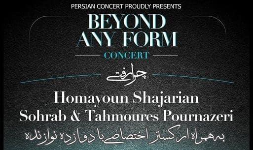 Homayoun Shajarian, Sohrab and Tahmoures Pournazeri Concert