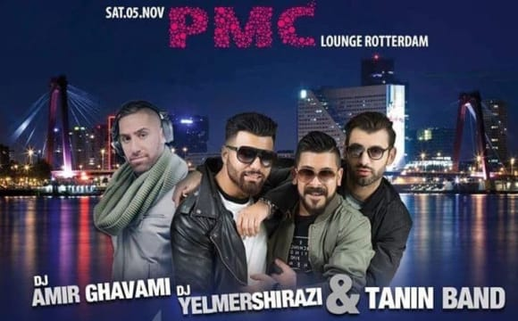 Persian Night with Tanin Band and DJ Shirazi and DJ Amir