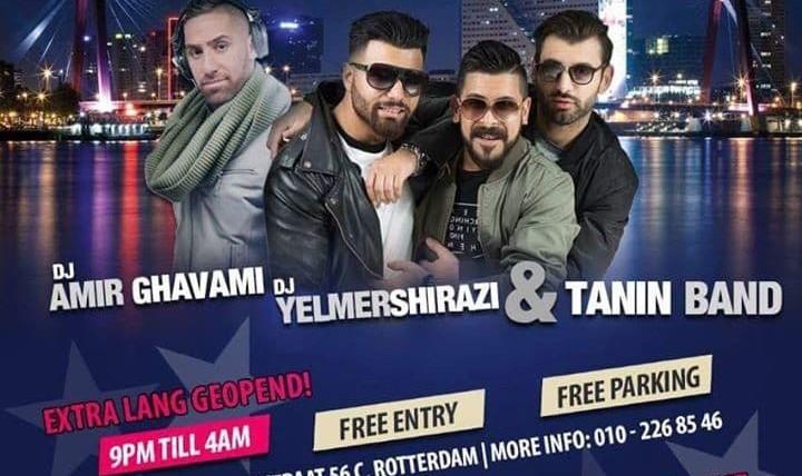 Persian Night with Tanin Band and DJ Shirazi and DJ Amir