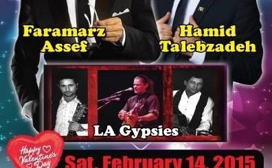 Faramarz Assef, Hamid Talebzadeh Valentine Concert in New York