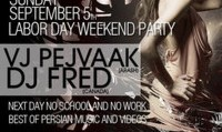 Labor Day Party this Sunday