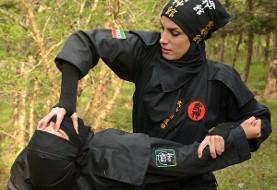 Iranian Ninja girls: Serious and mysterious