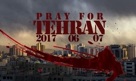 مراسم یادبود در گذشتگان حمله تروریستی تهران در بوداپست