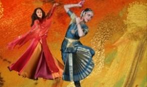 اجرای رقص هندی و ایرانی در شهر وین با هنرنمایی ماندانا علوی کیا