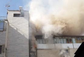 آتشسوزی در بیمارستان سیدالشهدا تهران رو به رو متروی ۱۵ خرداد مهار شد