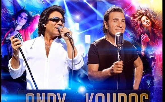 Andy and Kouros Live on Stage, First Time in 20 years