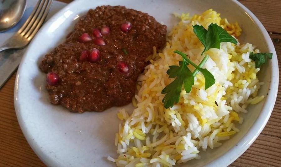 Vegan Persian Food Pop Up