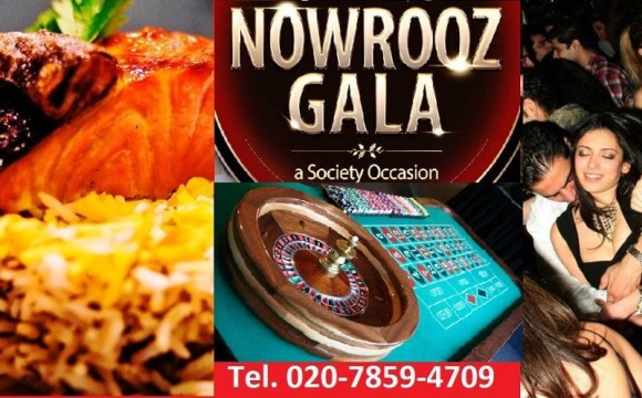 Nowrooz Society Gala 1394 in Kensington, Dinner, Club, Casino