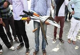 باز درگیری قبیله ای! درگیری ۲۱نفره با اسلحه و چماق در مشهد