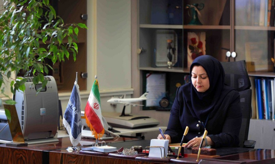 Farzaneh Sharafbafi, the first ever woman to lead Iran's ...