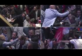 باز هم محافظان شخصی اردوغان معترضین وی را کتک زدند، این بار در سازمان ملل در نیو یورک