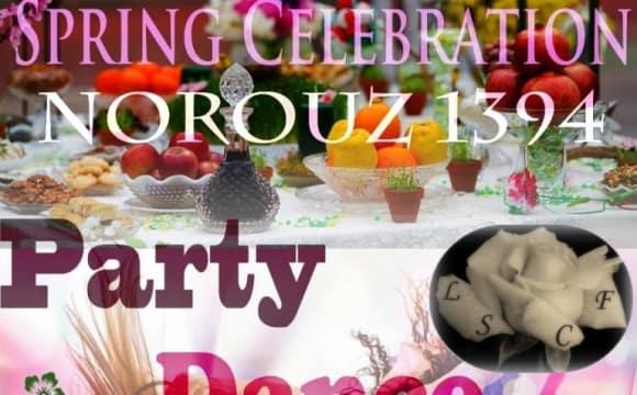 جشن نوروزی موسسه خیریه لیلا صالح زهی همراه شام و موسیقی