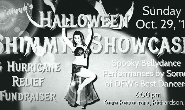 Halloween Shimmy Showcase and Hurricane Relief Fundraiser
