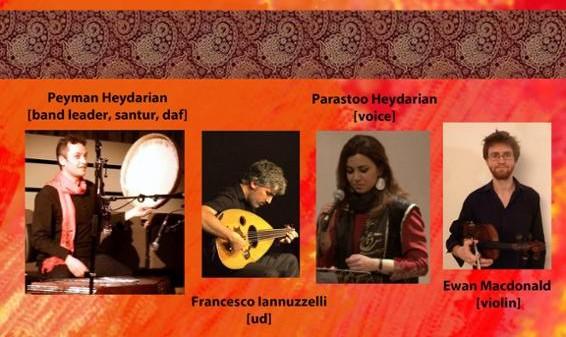 Jashn-e amordadgan: Concert of Iranian classical and folk music