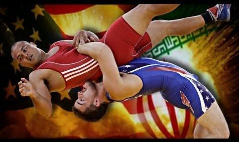 America and Iran are Wrestling Buddies!