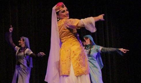 رقص ایرانی در جشنواره سازمان ملل