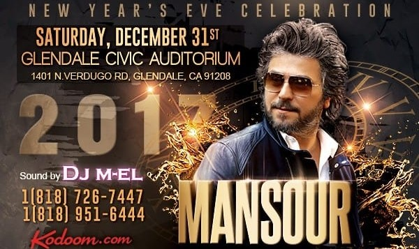 Mansour Live in New Year's Eve Celebration