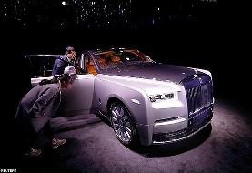 لوکس ترین و بی سر و صدا ترین اتومبیل دنیا رونمایی شد/ عکس فانتوم رولز رویس