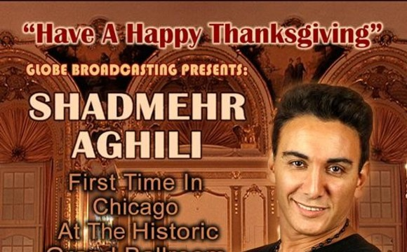 Shadmehr Aghili in Thanksgiving concert