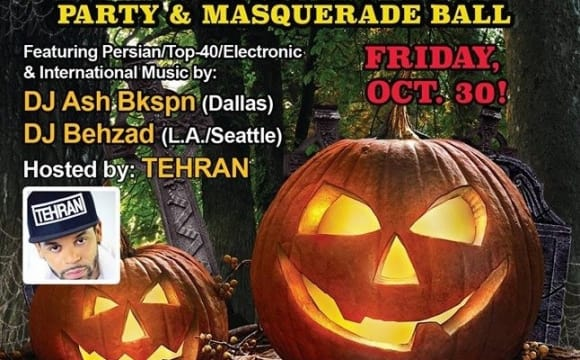 3rd Annual Persian Halloween Party & Masquerade Ball
